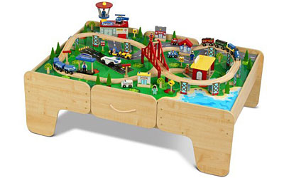 Shop online at Toys R Us for incredible toys and games like the Imaginarium - Piece Rail and Road Train Set with Table. Free shipping on orders over $49 | Free 1-hour in-store pickup!