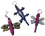 how to make beaded animal keychains