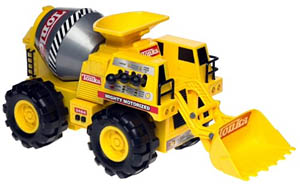 Tonka mighty motorized trucks for Tonka mighty motorized cement mixer